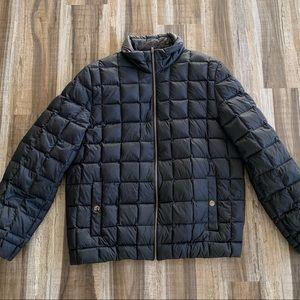 Michael Kors Black Puffer Jacket Winter Coat XL